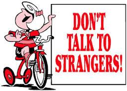 Image result for images of stranger danger